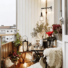 como decorar un balcón pequeño