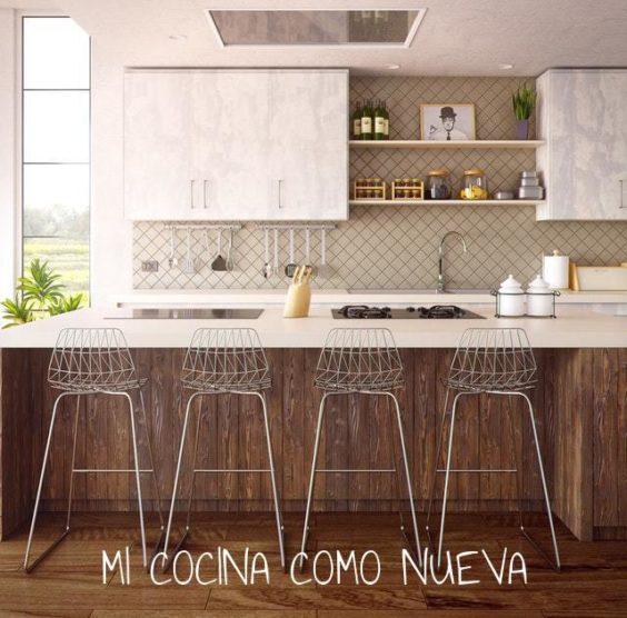 mi cocina como nueva. Renovar la cocina sin obras