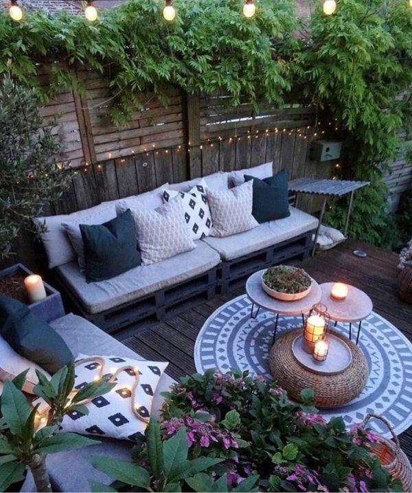 Iluminación terraza low cost