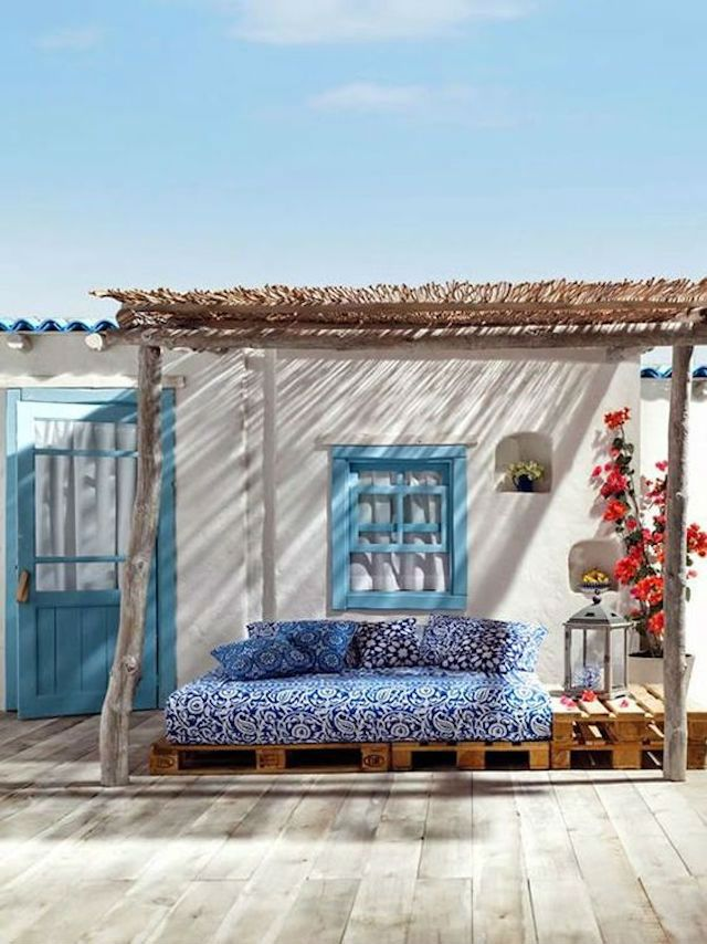 estilo mediterráneo para terrazas low cost