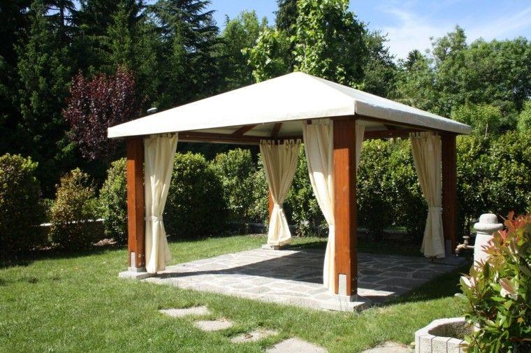 techados de lona para crear sombra en la terraza
