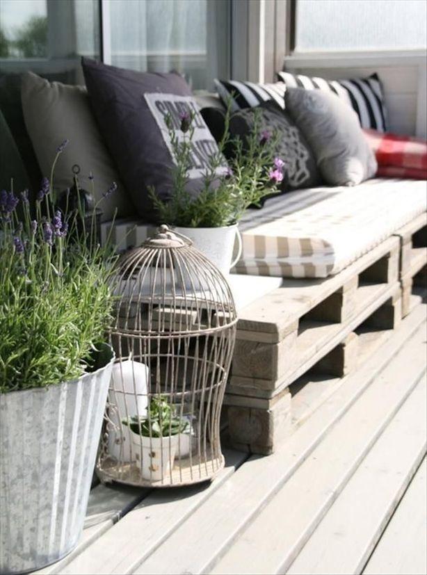 palets para la terraza low cost