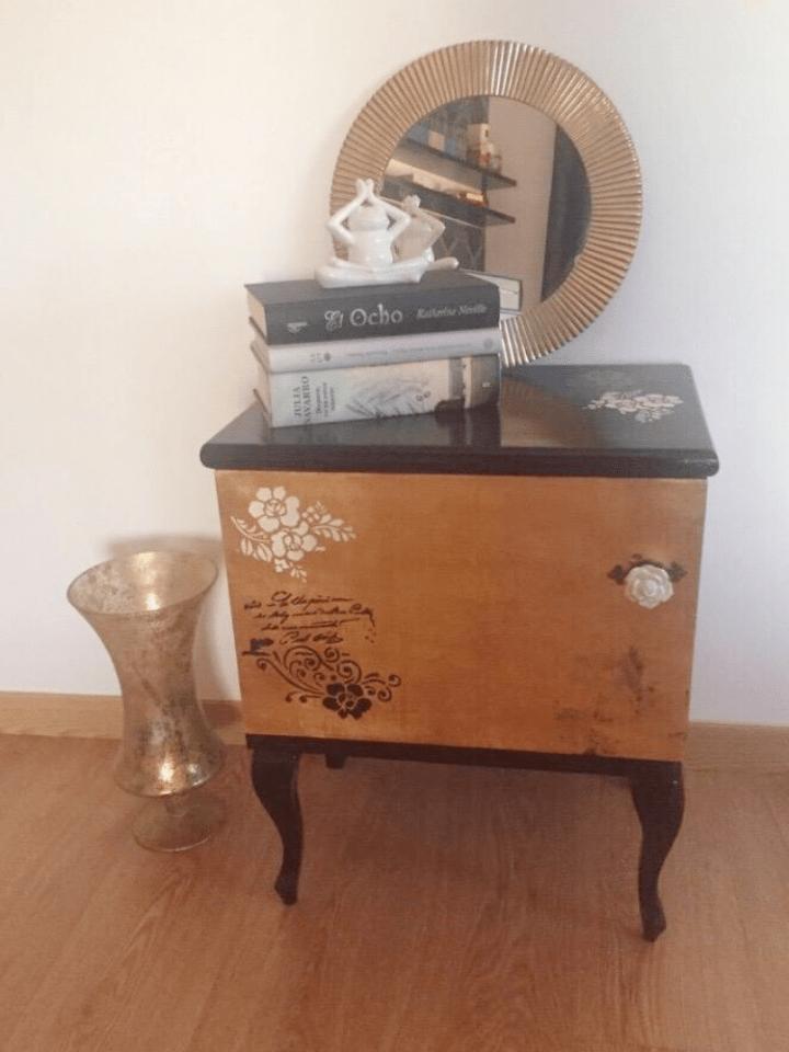 Decorar con pan de oro: Técnicas para aplicar dorado a un mueble