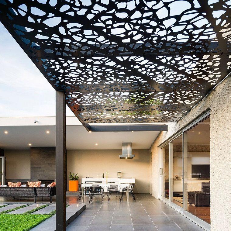 techos originales para el exterior. Terrazas con sombra