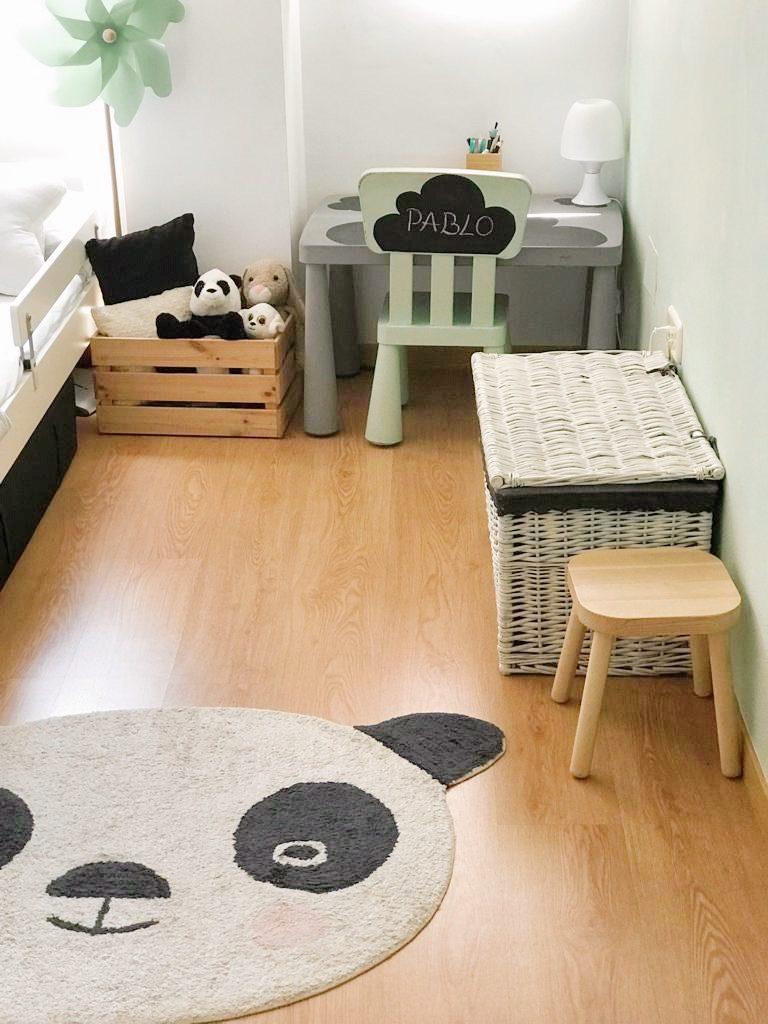 habitación nórdica infantil