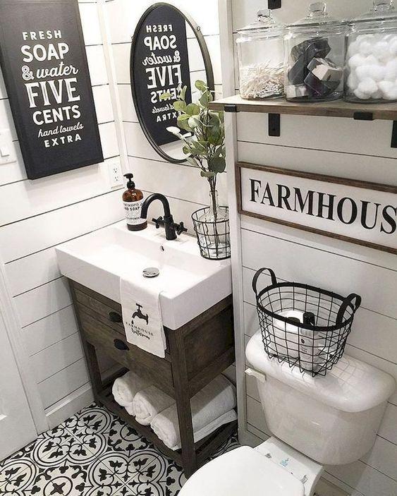 baño pequeño low cost para renovar la casa