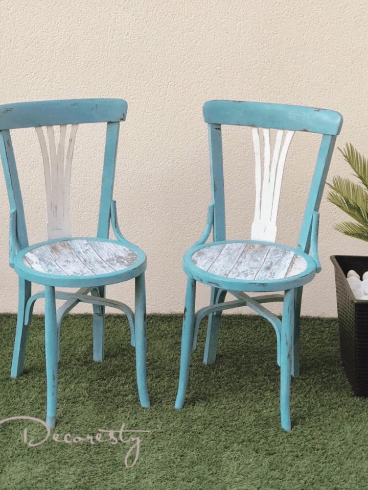 Como reciclar unas viejas sillas