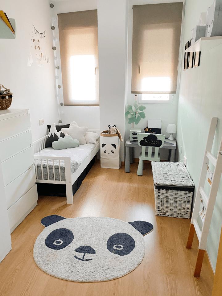 La habitación de Pablo: Como decorar un pequeño dormitorio infantil