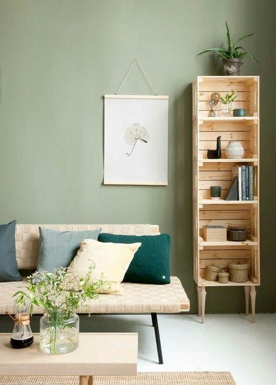 Ideas originales y prácticas: estanterías de madera