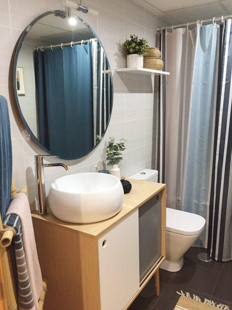 baño renovado con poco presupuesto