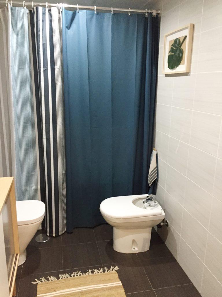 cortinas de baño de ikea. Ideas para renovar el baño
