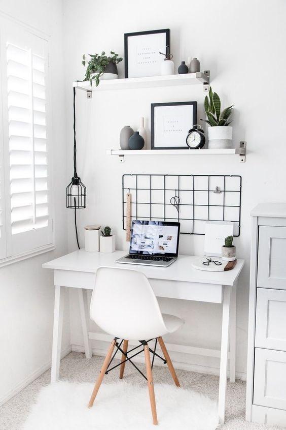 Estilo nórdico para crear tu oficina en casa