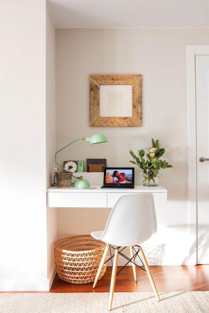 Crear un espacio de trabajo en el recibidor