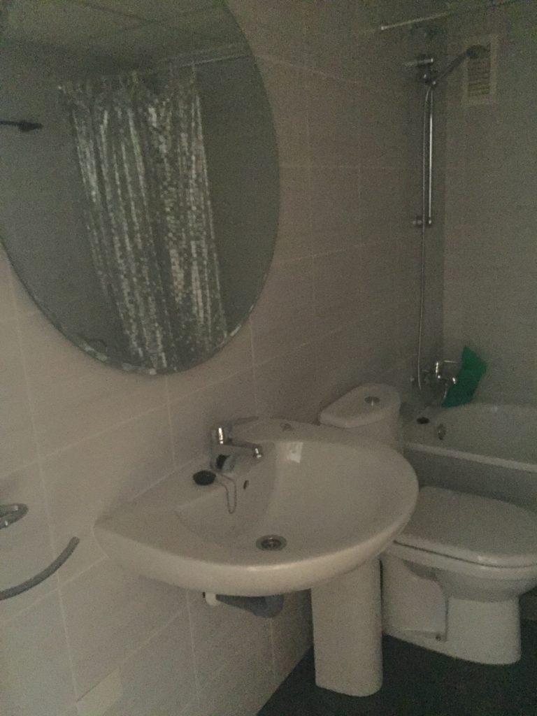 baño pendiente de reformar.
