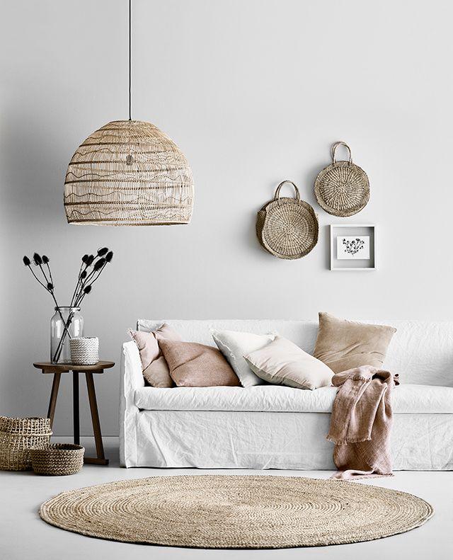 Lámparas para decorar dormitorios boho