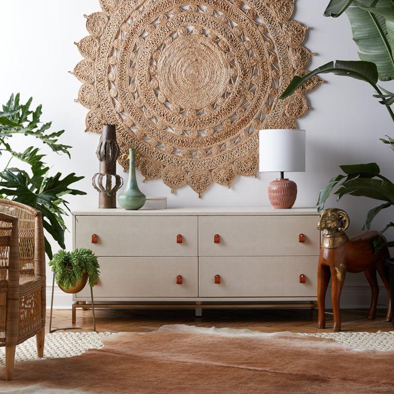 Alfombras de yute para decorar las paredes