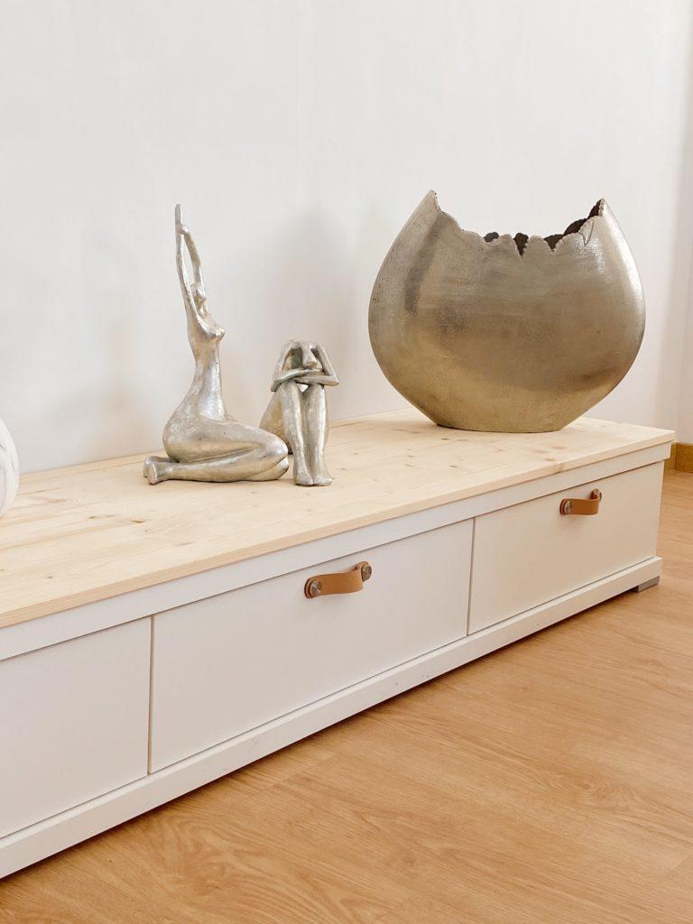 Reciclar un mueble de salón