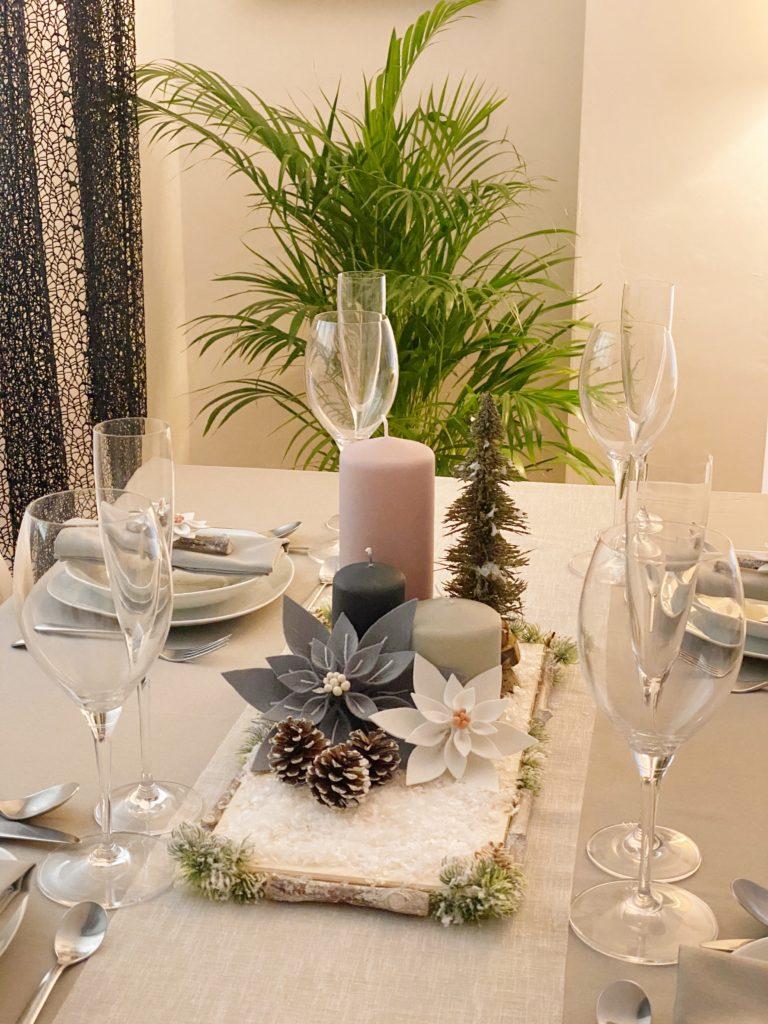 Centro de mesa Navideño. Como decorar tu mesa en Navidad