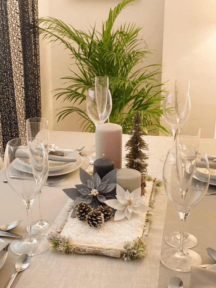Como decorar tu mesa estas fiestas. Navidad Handmade