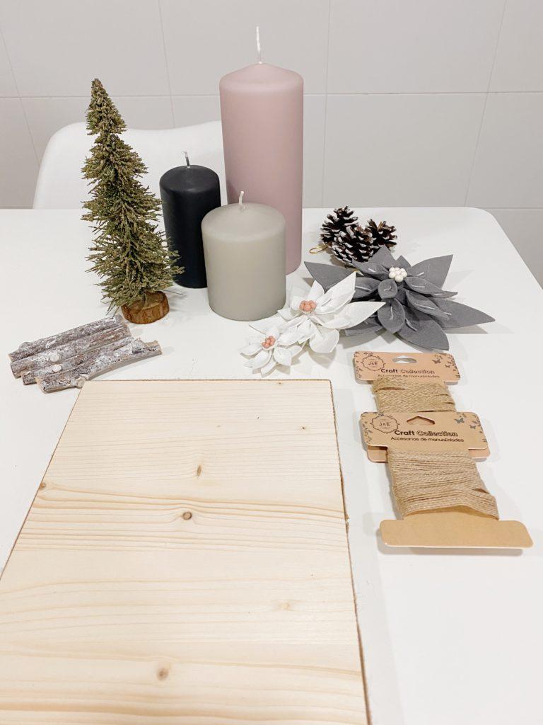 Pasos para hacer un centro de mesa en Navidad