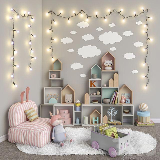Cajas para decorar las habitaciones de los niños