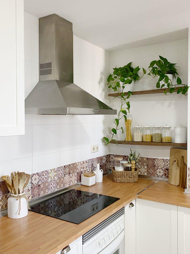 Como cambiar el aspecto de la cocina con unos pequeños cambios