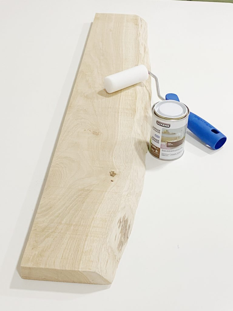 Tablas de madera sin tratar