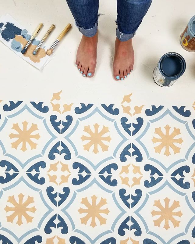 pintar el suelo de casa
