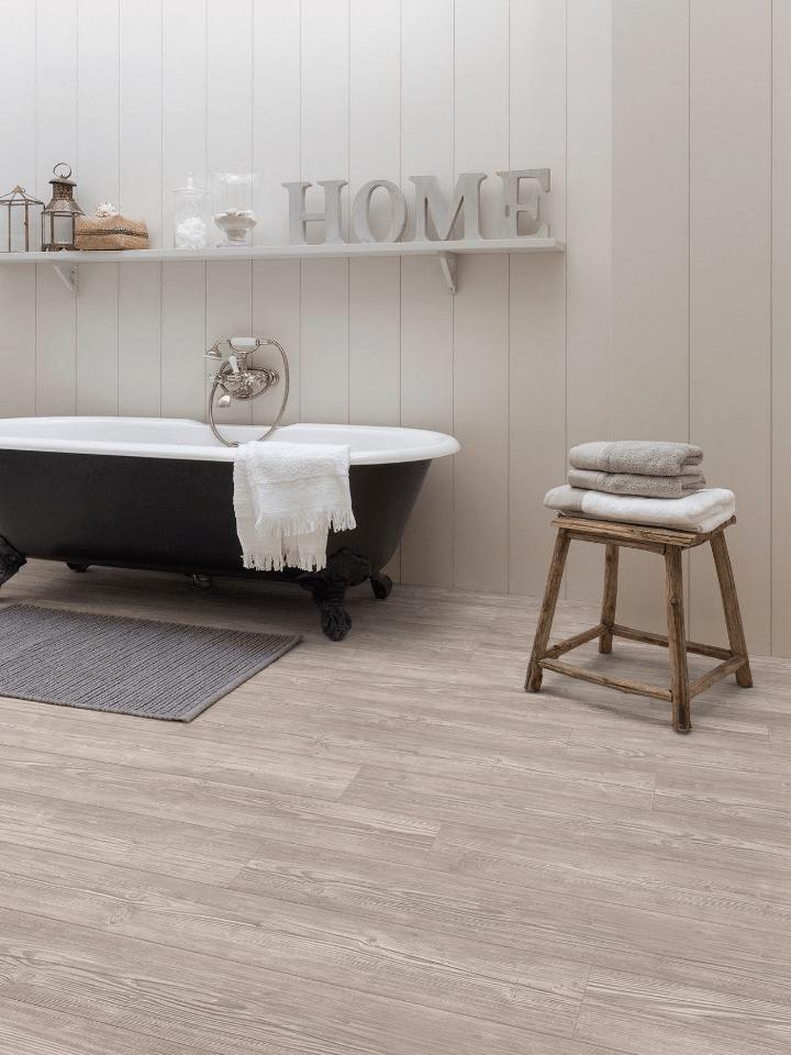 suelo de madera vinilico