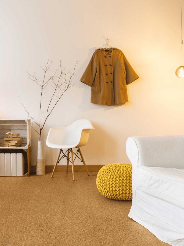suelo de corcho para habitaciones infantiles. cambiar el suelo de casa