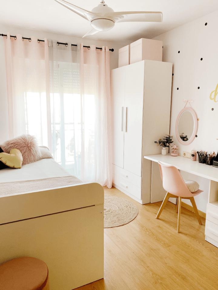 El cuarto ideal para una adolescente. Como conseguirlo