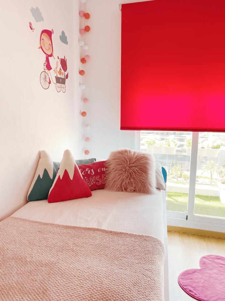 Habitaciones infantiles para niñas. Como transformar una habitación infantil en el cuarto ideal para una adolescente