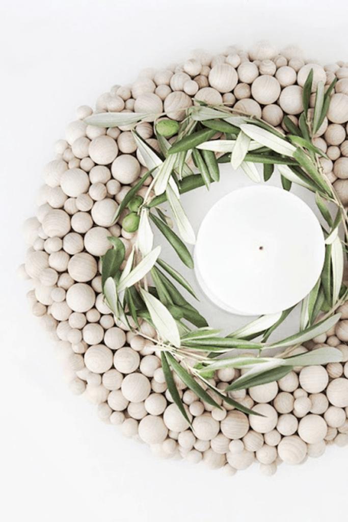 Decoración: decorativos y sencillos diy con bolas de madera