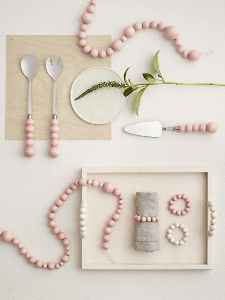 12 decorativos y sencillos diy con bolas de madera.