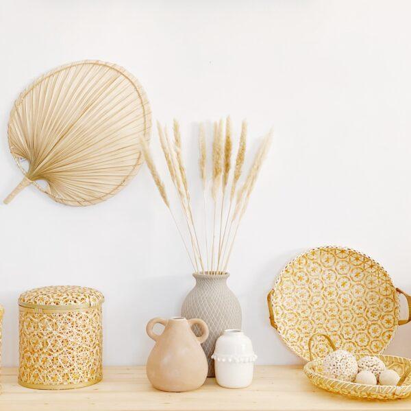 pai pai decorativo bambú
