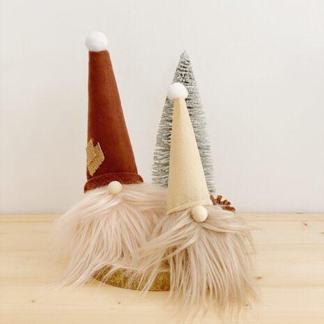 adornos para navidad. gnomos decorativos