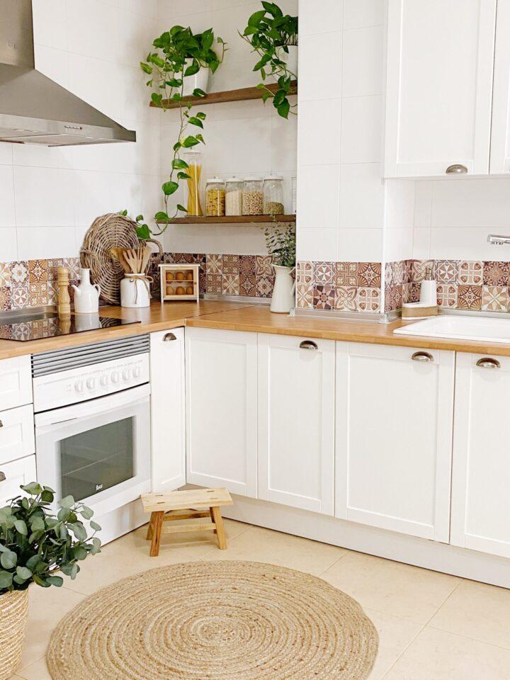 cocina pintada y renovada. Renovar la cocina sin obras