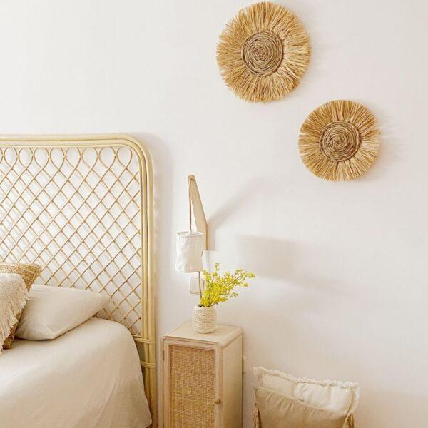 decoración pared para dormitorio