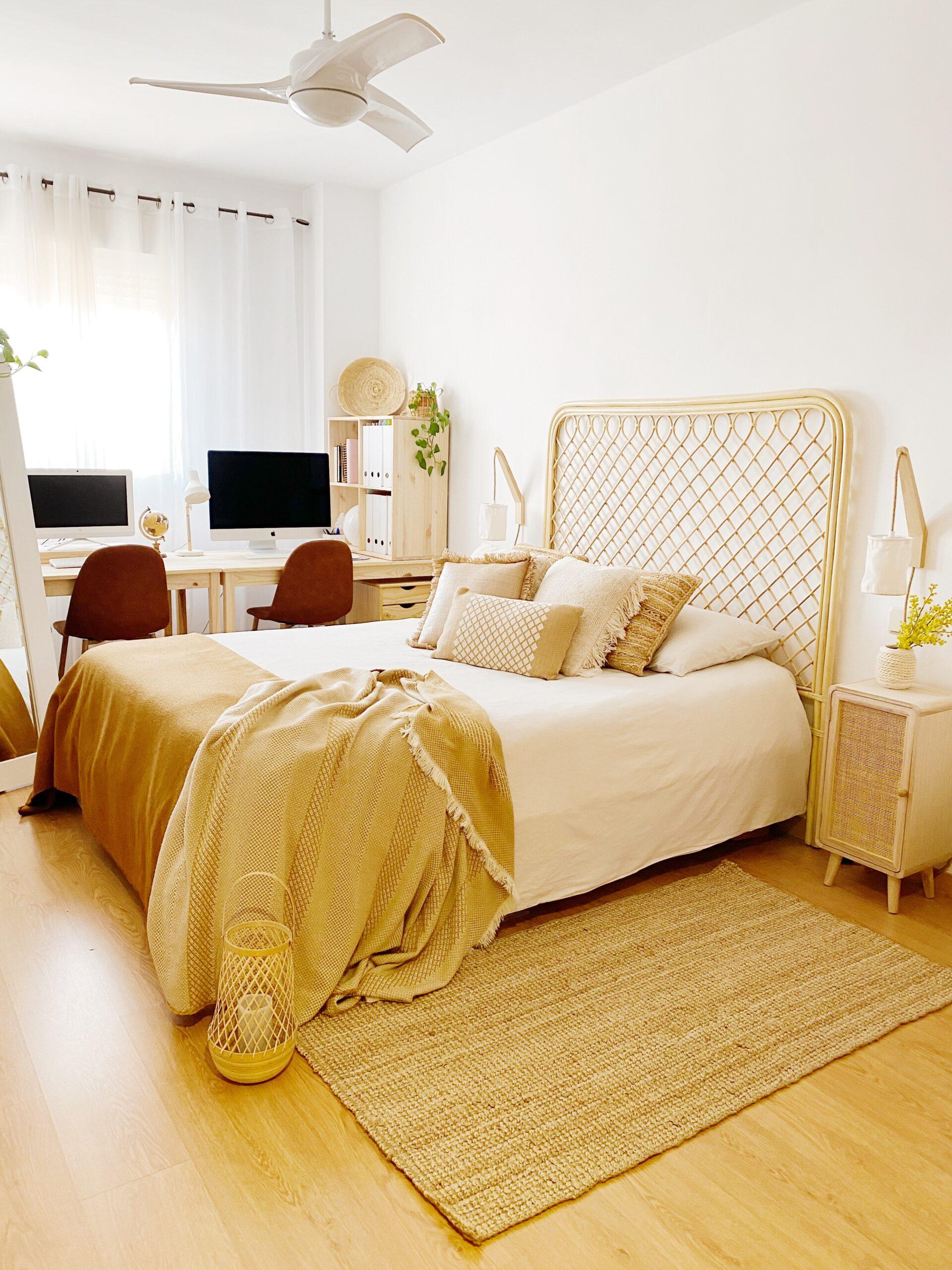 renovación completa de dormitorio con zona de trabajo