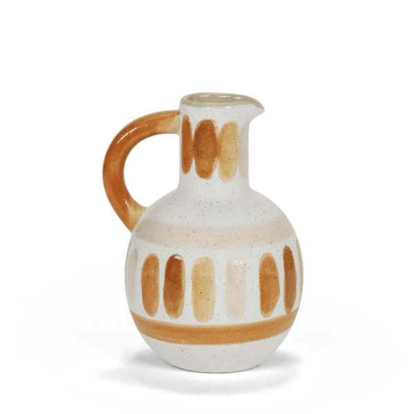 jarra decorativa de estilo mediterráneo